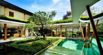 Water Lily House par Guz Architects - Singapour