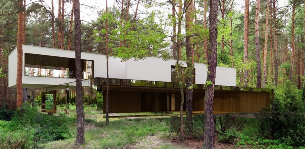 Izabelin house par reform architekt varsovie pologne for Maison moderne foret
