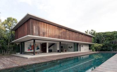 Swiss family house par Architectkidd - Bang Saray, Thaïlande