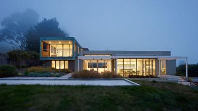 In-Out par Wnuk Spurlock Architecture - Stinson Beach, Californie, USA