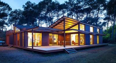Maison Alios par Guillaume Cosculluela - Pays Basque, France