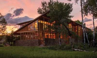 - Montana Glass Home par Cutler Anderson Architects - Montana, Usa