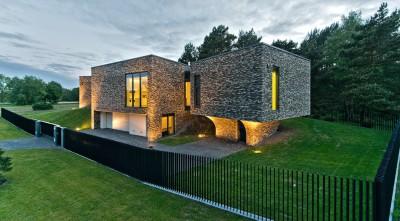 Family House par UAB Architektu biuras - Palanga, Lituanie