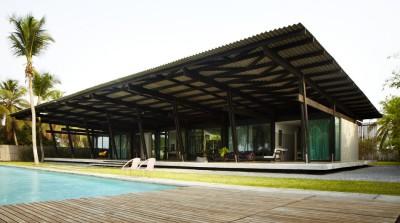 Bambou pavillion par Koffi Diabat architectes - Assinie-Mafia, Côte d'Ivoire