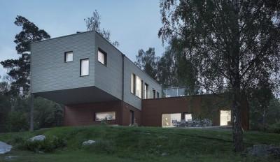 PlayHouse par  Street Monkey Architects + Bjerking - Värmdö, Suède