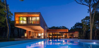 Hamptons Home In The Woods par Rangr Studio - Southampton, New York, Usa