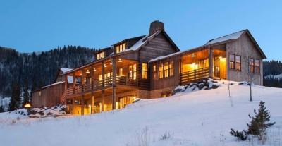 Rocky Mountain retraite par Beck Building Company - Aspen Springs, Usa
