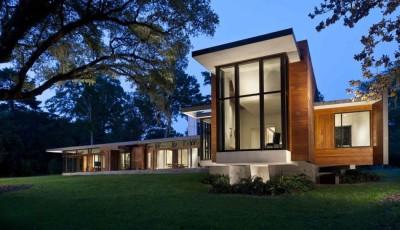 Bray's Island SC Modern II par SBCH Architects - Sheldon, Usa