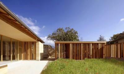Stone house par Carl Fredrik Svenstedt architecte - Vallée du Luberon, France