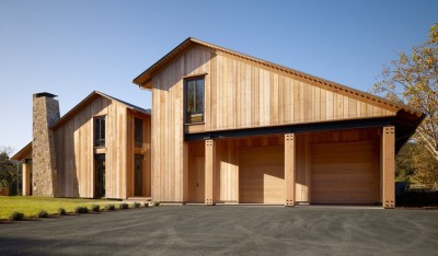 Mountain Wood Residence par Walker Warner Architects -Woodside, Usa