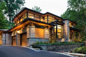 maison bois et pierre construire tendance. Black Bedroom Furniture Sets. Home Design Ideas