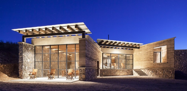 Maison En Pierre Contemporaine : The cave in pilares par greenfield coahuila mexique