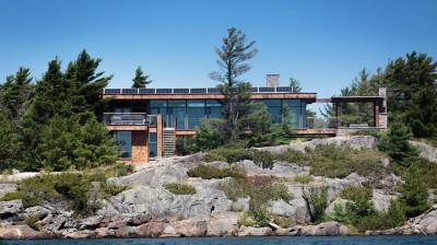 Cottage Country par Core Architects - Baie géorgienne, Canada