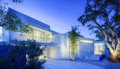 Light Box House par Jonathan Parks Architect - Lido Shores, Sarasota, Usa