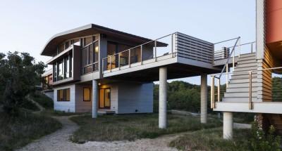 House of Shifting Sands par Ruhl Walker Architects - Wellfleet, Usa