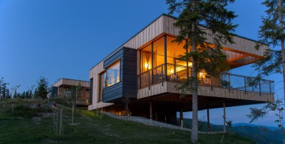 Deluxe Mountain Chalets par Viereck Architects - Styria, Autriche