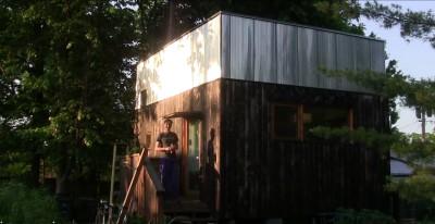 tiny house en bois dans l'Ohio