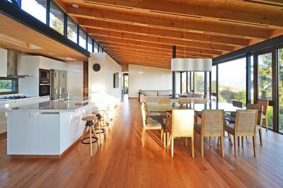 Cuisine Américaine - House Cs par Alvaro Arancibia - Cachagua, Chili