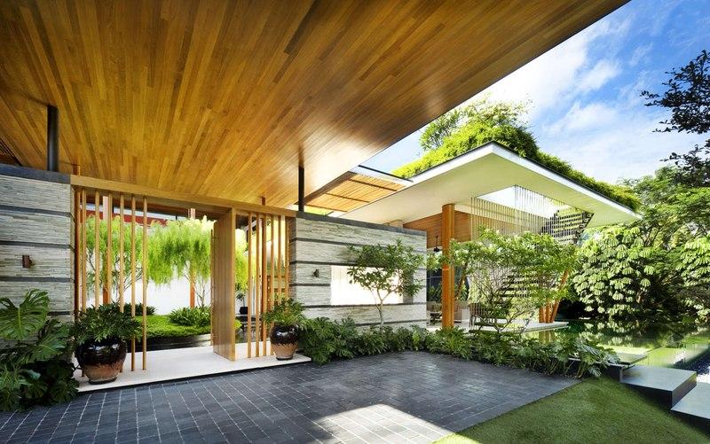 Terrasse & Jardin - Coral-House par Guz Architects, Singapour