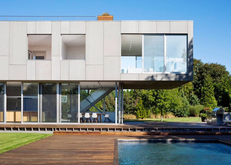 Terrasse & Piscine - 365ML par Levenbetts - New York, USA