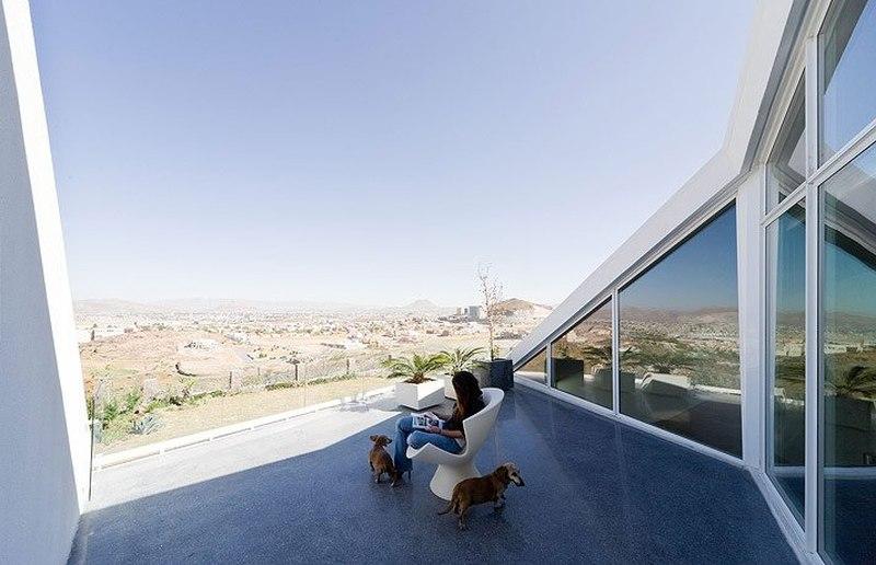 Terrasse Toit - house-chihuahua par Productora - Chihuahua, Mexique