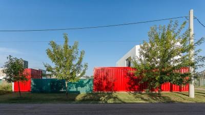 Vue propriété - Container House par Schreibe Architect - Cordoba, Argentine