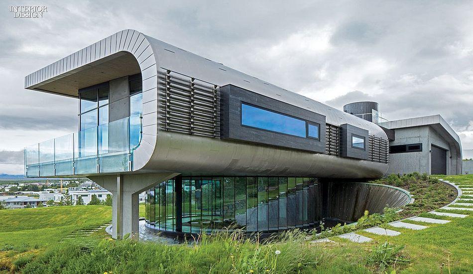 Maison contemporaine à l\'architecture remarquable en Islande ...