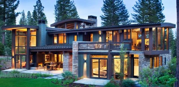 Atypique maison en bois et pierre en californie aux usa - Maison bois et pierre ...