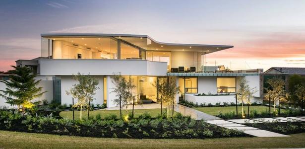 Maison contemporaine en bord de mer en australie - Maison moderne bord de mer ...