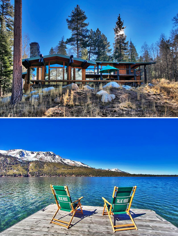 Tallac House, Lac Fallen Leaf, Californie, Usa