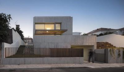 Une-house-caxias par António Costa Lima Arquitectos