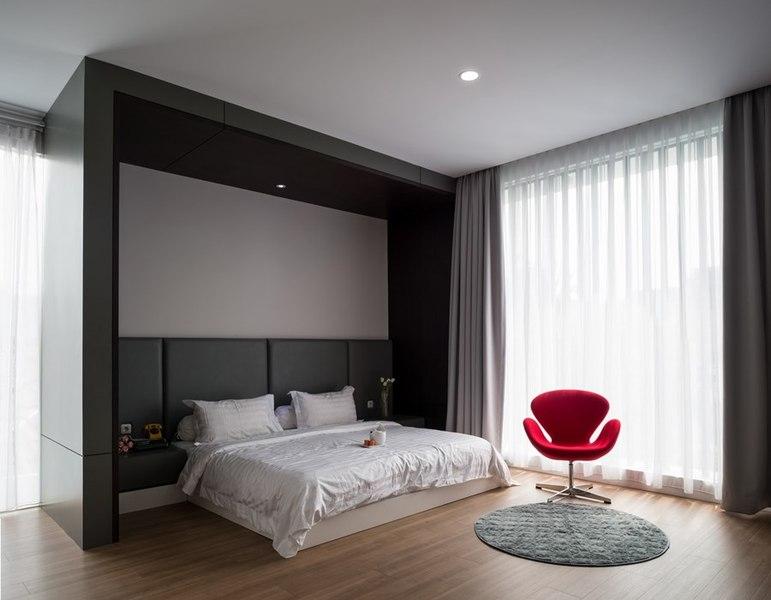 chambre - d-s-house par DP+HS architects - jakarta, Indonesie