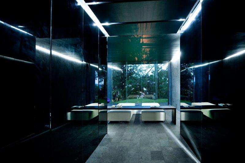 couloir & accès salle de repos - casa-altamira par Joan Puigcorbé - Ciudadd Colon, Costa Rica