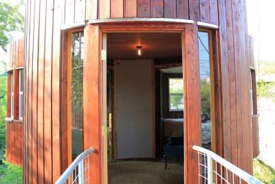 entrée principale-artis-tree par rtisTree de Cypress Valley Canopy - Texas, USA