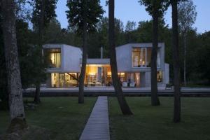 Kavakava architects construire tendance - La contemporaine villa k dans les collines de nagano au japon ...