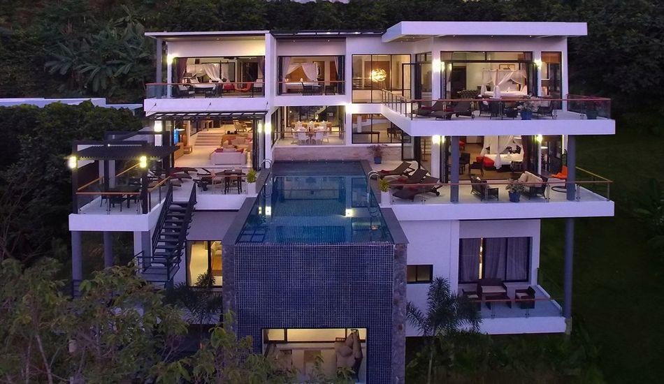 Magnifique villa contemporaine de luxe avec piscine en ...