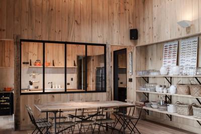 salle à manger - House-Todos-Los-Santos par Apio Arquitectos - Puerto Montt, Chili