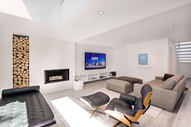 Ancienne r sidence urbaine r nov e en maison contemporaine ultra moderne au c - Maison renovee moderne ...