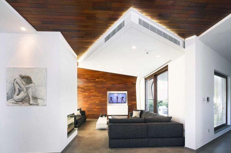 salon & coin TV - tsikkinis par Tsikkinis Architecture Studio - Limassol, Chypre