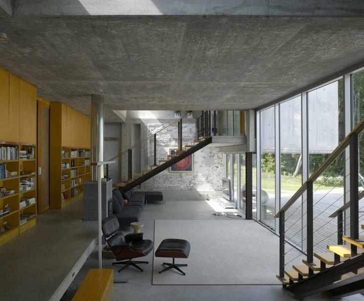 salon & escalier accès étage - villa-lokaator par kavakava - Paldiski, Estonie