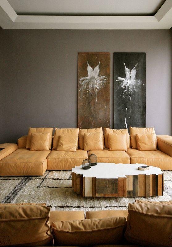 salon principale - desert-rose par Massimiliano Camoletto - Koweit.