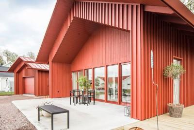 salon terrasse design & entrée - villa-vallmo par Thomas Sandell - Skaraborg, Suède