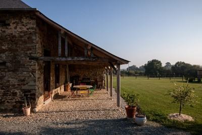 terrasse & pelouse - ladaa par JKA Jérémie Koempgen Architecture - Craon, France
