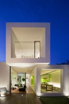 une-white cube-par-Matt-Gibson-Architecture