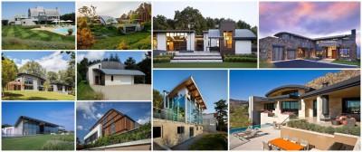 10 maisons contemporaines à toiture cintrée