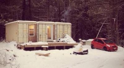 maison autonome de Joseph Dupuis, Canada