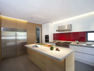 cuisine - Downley House par Kuche Design - Hampshire, Royaume-Uni
