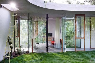 façade entrée - Husband And Wife Design par jesse bennett - Queensland, Australie
