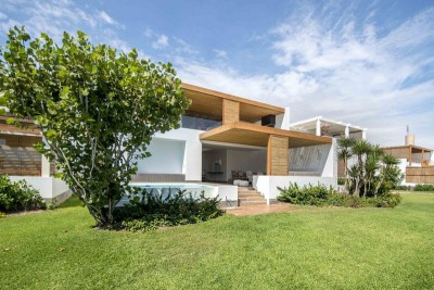 jardin - Panda House par DA-LAB Arquitectos - Playa Blanca, Pérou