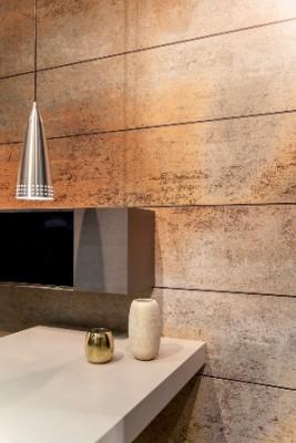 Neolith Iron blue en salle de bains